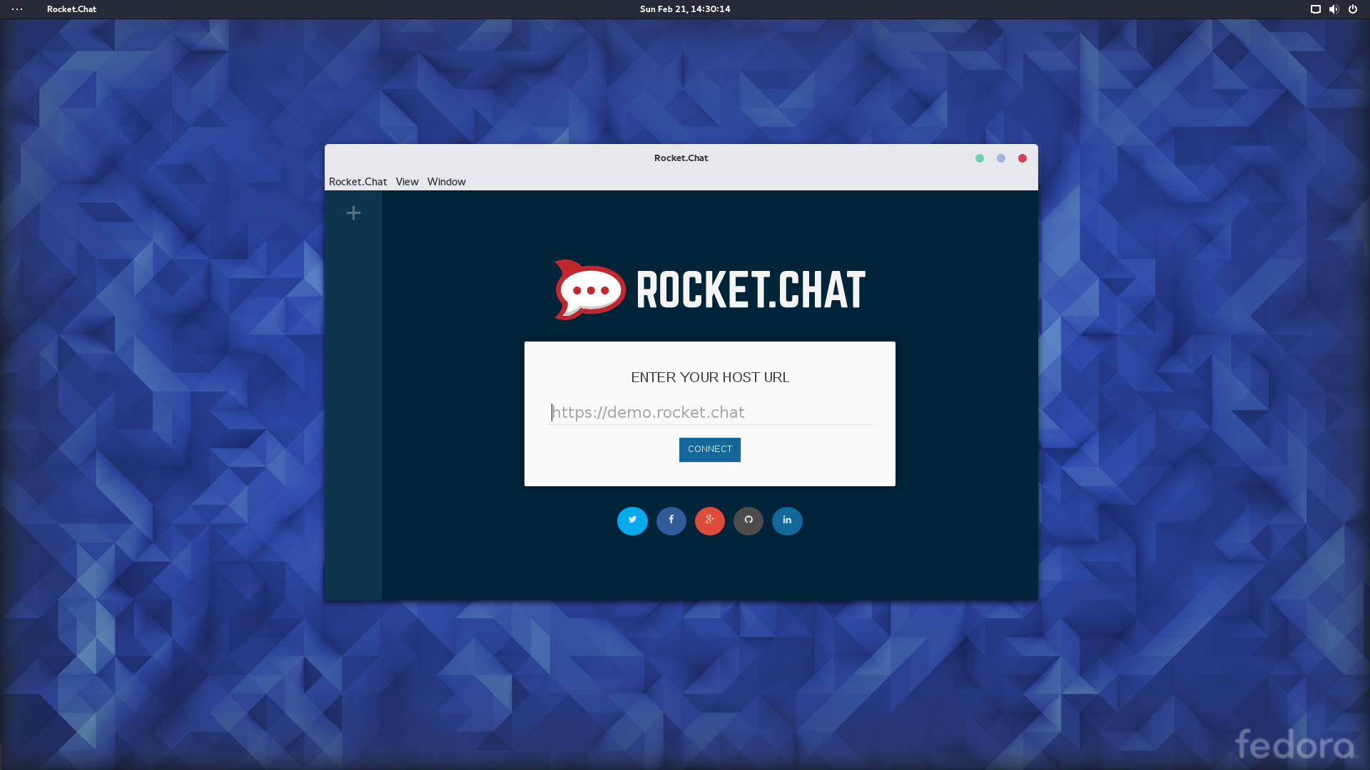 Rocket Chat Client RPM from DEB Package